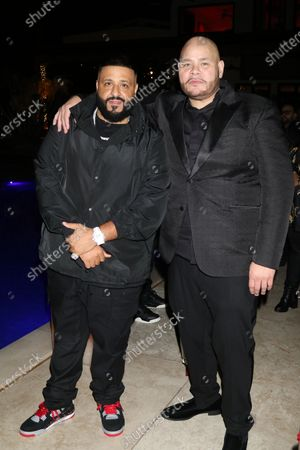 Stock Picture of DJ Khaled and Fat Joe