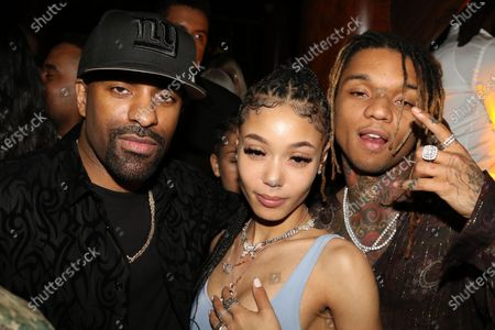 DJ Clue, Swae Lee and guest