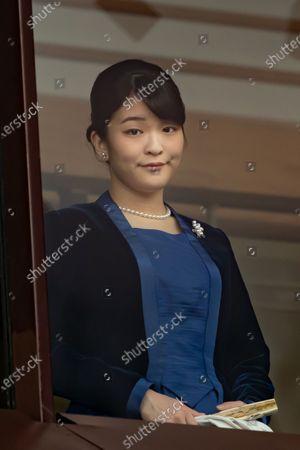 Stock Picture of Japanese Princess Mako