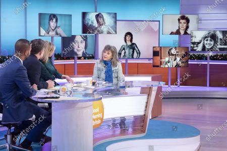 Editorial photo of 'Good Morning Britain' TV show, London, UK - 02 Jan 2020