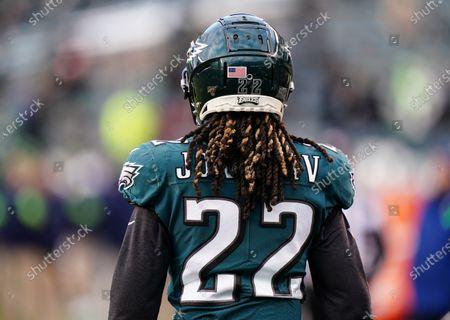 Stock Photo of Jay Ajayi, Running Back of the Philadelphia Eagles (22),