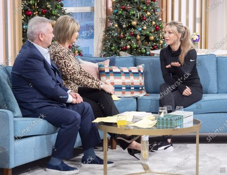 Stock Photo of Eamonn Holmes and Ruth Langsford with Chloe Madeley