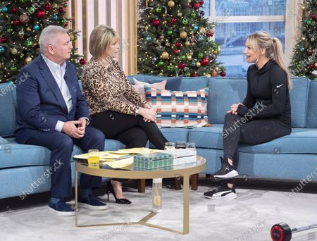 Eamonn Holmes and Ruth Langsford with Chloe Madeley