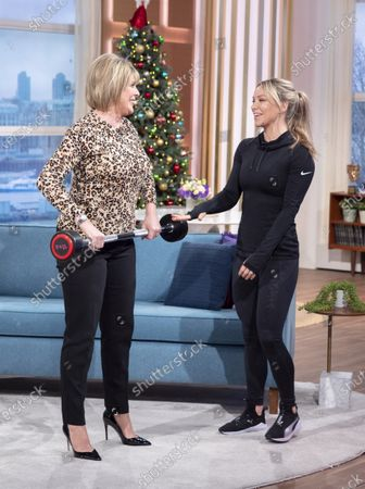 Ruth Langsford with Chloe Madeley