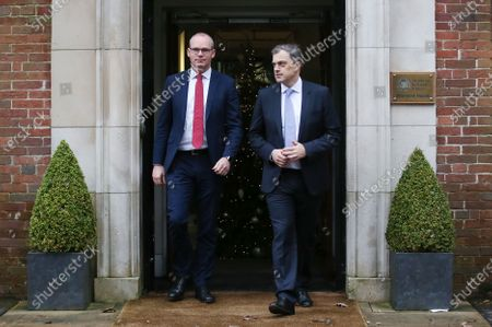 Northern Ireland Secretary Julian Smith MP and Tnaiste Simon Coveney meet at Stormont House