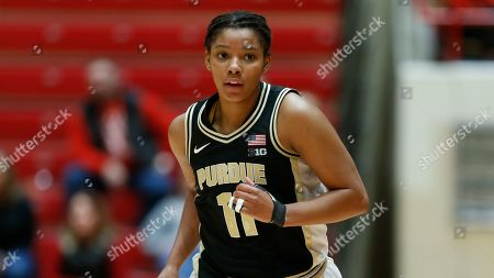 Stock Image of Purdue guard Dominique Oden is seen against Ohio State during an NCAA basketball game on in Columbus, Ohio. Purdue won 66-50