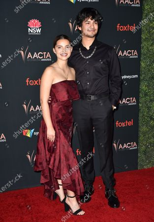 Stock Photo of Inde Navarrette and Xolo Mariduena