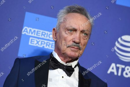 Udo Kier arrives at the 31st annual Palm Springs International Film Festival Awards Gala, in Palm Springs, Calif
