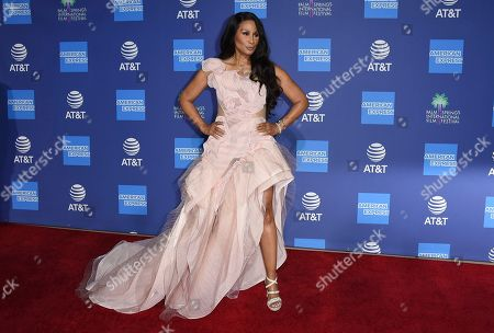 Beverly Johnson arrives at the 31st annual Palm Springs International Film Festival Awards Gala, in Palm Springs, Calif