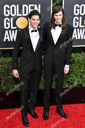 Paris Brosnan and Dylan Brosnan