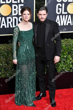 Rose Leslie and Kit Harington
