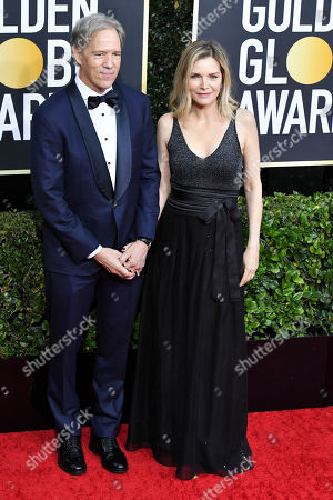 Stock Photo of David E. Kelley and Michelle Pfeiffer