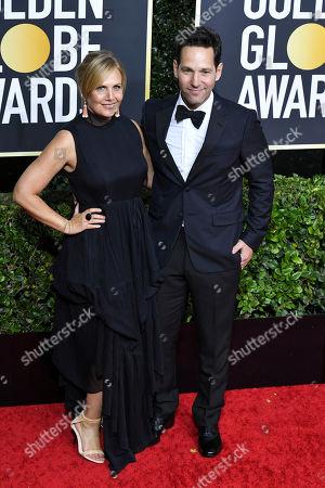 Stock Photo of Julie Yaeger and Paul Rudd