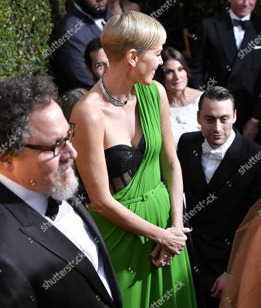 Jon Favreau, Charlize Theron and Kieran Culkin
