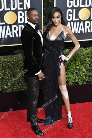 Stock Picture of LaQuan Smith and Winnie Harlow