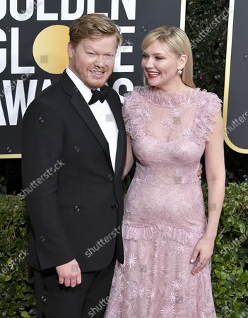 Stock Photo of Jesse Plemons and Kirsten Dunst