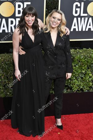 Stock Picture of Emily Lynne and Kate McKinnon