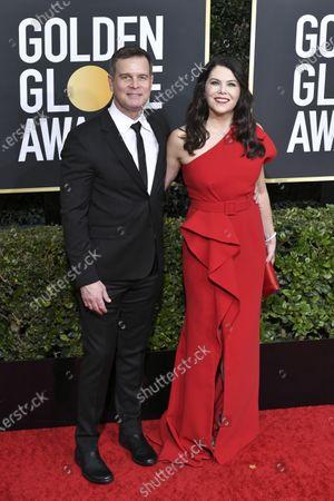 Peter Krause and Lauren Graham