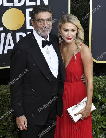Stock Picture of Chuck Lorre and Arielle Lorre