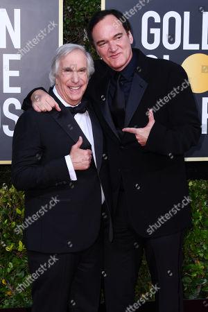 Henry Winkler and Quentin Tarantino