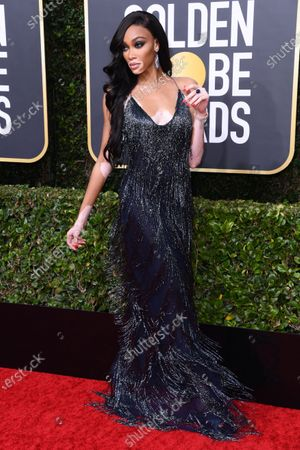 Editorial picture of 77th Annual Golden Globe Awards, Arrivals, Los Angeles, USA - 05 Jan 2020