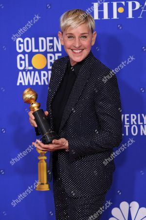 Stock Picture of Ellen DeGeneres - Carol Burnett Award