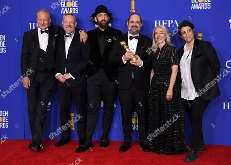 Stellan Skarsgard, Jared Harris, Johan Renck, Craig Mazin, Jane Featherstone and Carolyn Strauss - Best Television Limited Series or Motion Picture Made for Television - Chernobyl