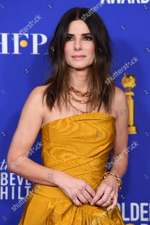 Stock Photo of Sandra Bullock