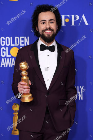 Editorial image of 77th Annual Golden Globe Awards, Press Room, Los Angeles, USA - 05 Jan 2020