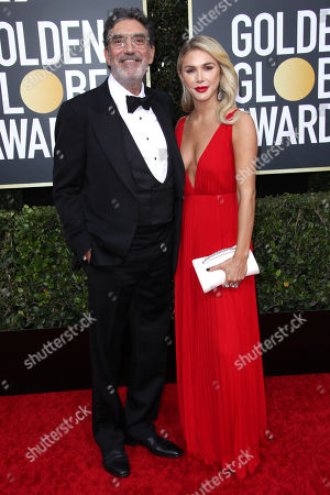 Chuck Lorre and Arielle Lorre