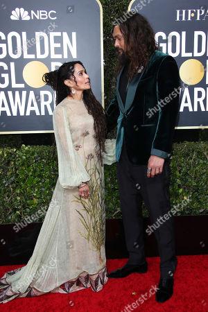 Lisa Bonet and Jason Momoa
