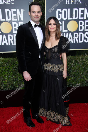 Bill Hader and Rachel Bilson