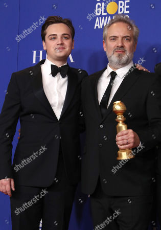 Dean-Charles Chapman and Sam Mendes - Best Motion Picture, Drama - 1917