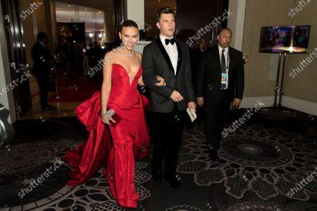 Scarlett Johansson, Colin Jost