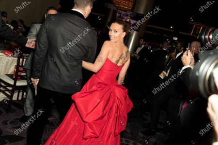 Editorial picture of 77th Annual Golden Globe Awards, Cocktails, Los Angeles, USA - 05 Jan 2020