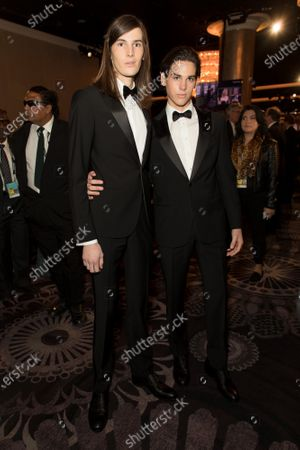 Editorial image of 77th Annual Golden Globe Awards, Cocktails, Los Angeles, USA - 05 Jan 2020