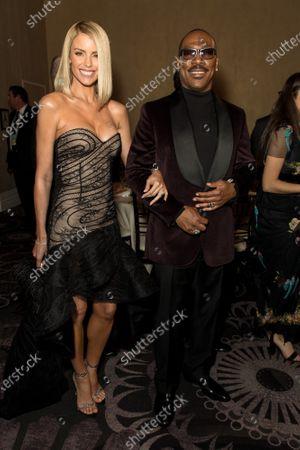 Eddie Murphy and Paige Butcher