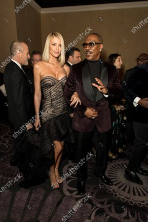 Stock Picture of Eddie Murphy and Paige Butcher