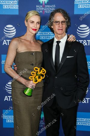 Charlize Theron and Jay Roach