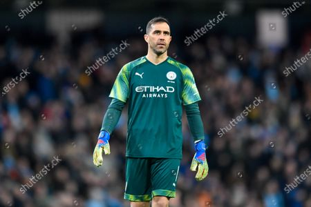 Stock Picture of 4th January 2020, Etihad Stadium, Manchester, England; Emirates FA Cup, Manchester City v Port Vale : Claudio Bravo (1) of Manchester City in actionCredit: Simon Whitehead/News Images