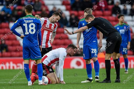 Editorial image of Sunderland v Lincoln City, EFL Sky Bet League One, Football, Stadium of Light, Sunderland, UK - 04 Jan 2020