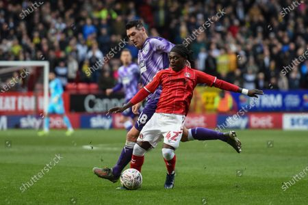 5th January 2020, The Valley, London, England; Emirates FA Cup, Charlton Athletic v West Bromwich Albion :Abraham Odoh (42) of Charlton Athletic makes a run with the ball Credit: Phil Westlake/News Images