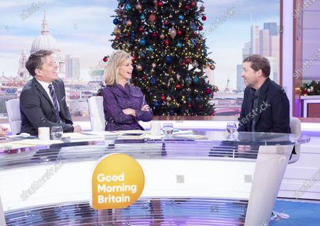 Editorial image of 'Good Morning Britain' TV show, London, UK - 03 Jan 2020