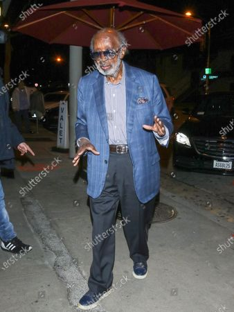 Stock Photo of Clarence Avant at Craig's Restaurant