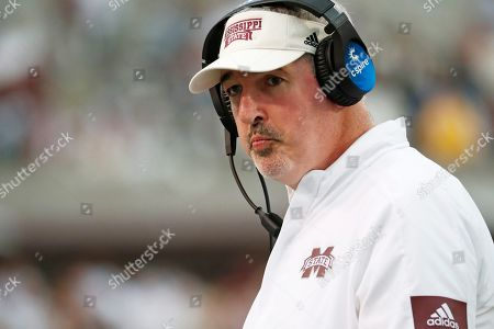 Editorial picture of Mississippi State Moorhead Football, Starkville, USA - 19 Oct 2019