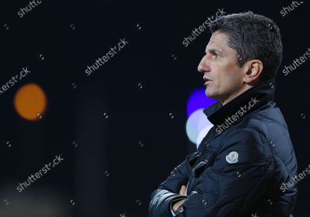 Al-Hilal Head Coach Razvan Lucescu during the Saudi King's Cup Round of 16 match between Al-Hilal and Al-Faisaly at King Salman Sport City Stadium, Majmaah, Saudi Arabia, 03 January 2020.