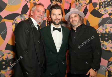 Stock Picture of Jean-Marc Vallee, Adam Scott and Nathan Ross