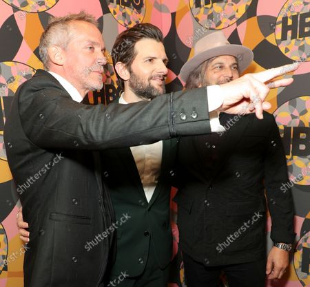 Stock Photo of Jean-Marc Vallee, Adam Scott and Nathan Ross