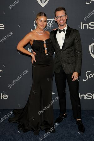 Tanya Rad and Brad Goreski