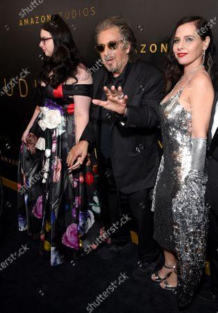 Olivia Pacino, Al Pacino and Meital Dohan